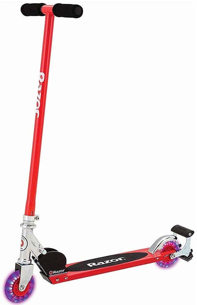 Razor S Spark skuter sportowy, czerwony