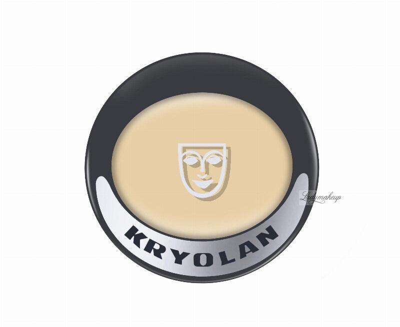KRYOLAN - Ultra Foundation - Podkład w kremie dobrze kryjący - ART. 9002 - IVORY