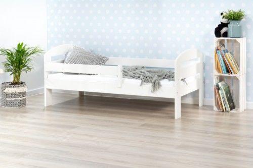 Łóżko 160x80cm BumbleBee pojedyncze kolor biały