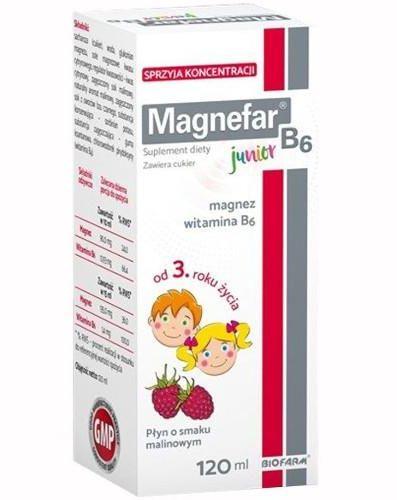 Magnefar B6 Junior płyn 120 ml