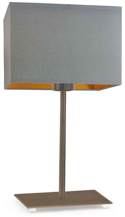 Elegancka lampka nocna na złotym stelażu - EX949-Amalfes - 5 kolorów