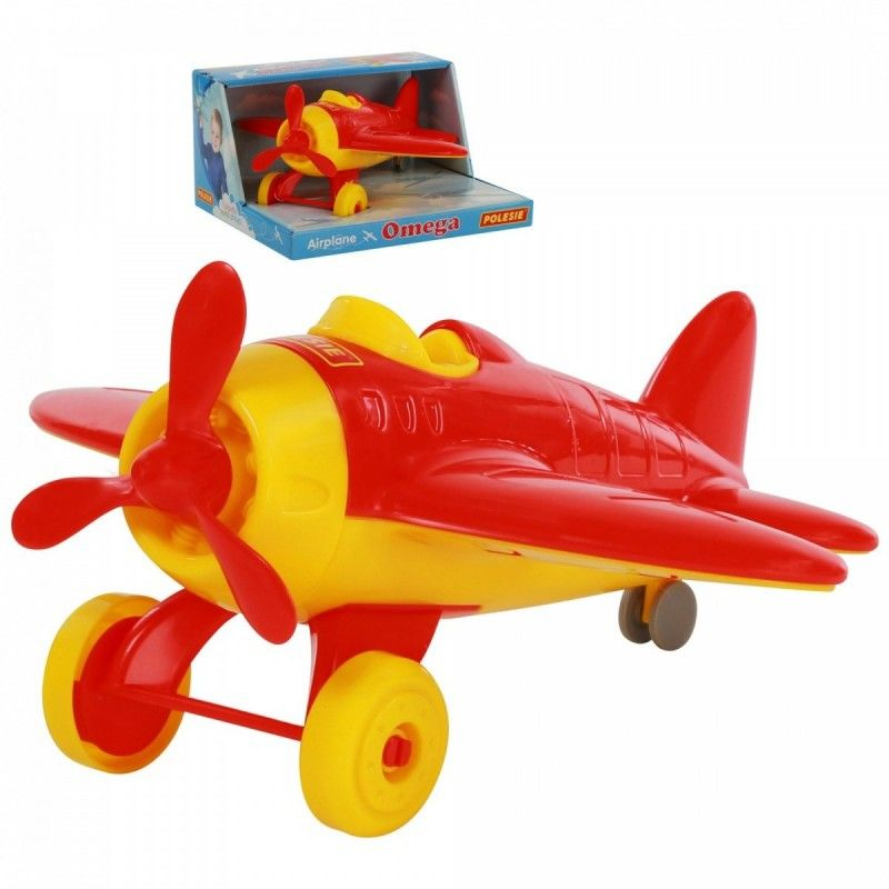 Samolot Omega w pudełku