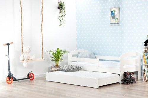 Łóżko 160x80cm BumbleBee podwójne kolor biały