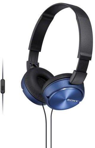 Sony MDR-ZX310AP (niebieski)