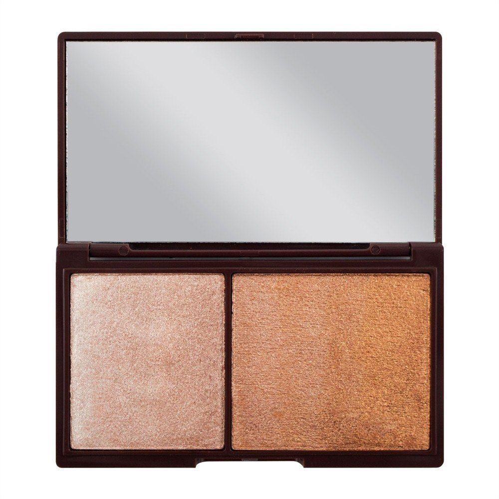 Make Up Revolution I Heart Makeup Chocolate Bronze & Shimmer - Paletka Do Konturowania Twarzy 11g