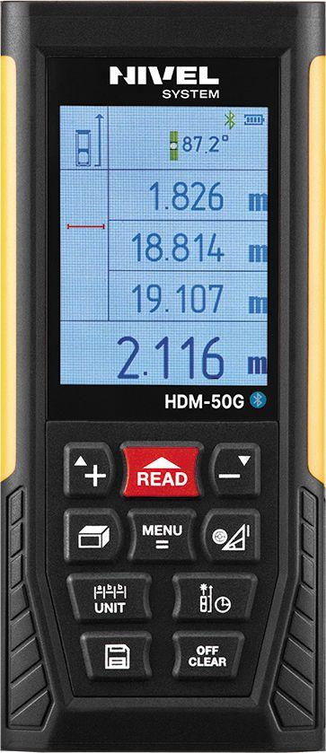 Dalmierz laserowy Nivel System HDM-50G zielony