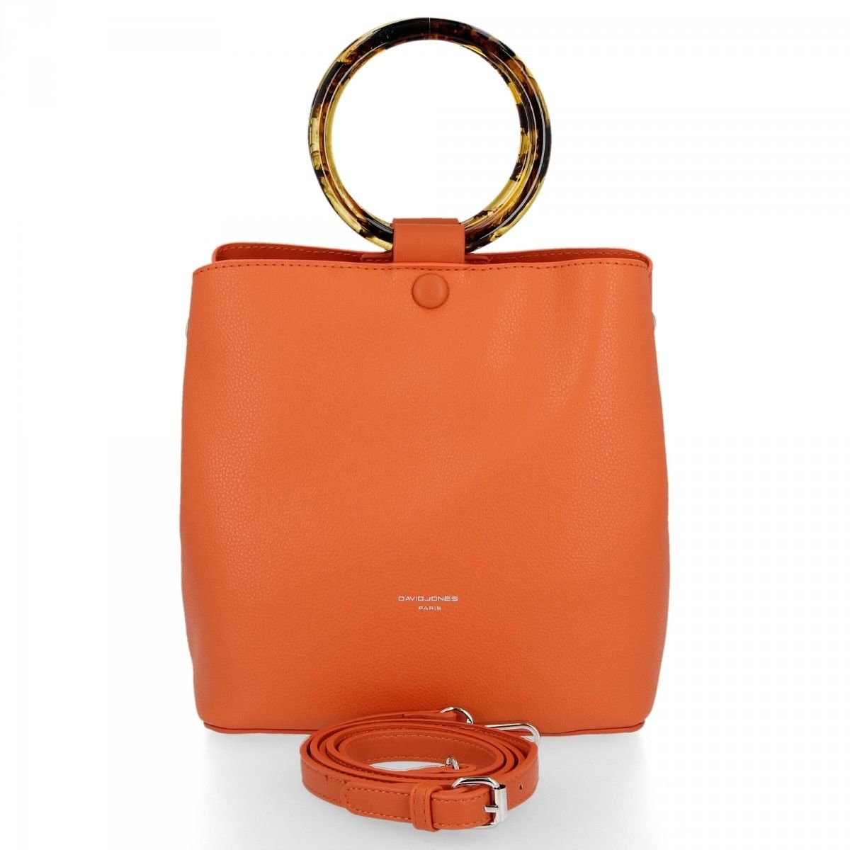 Uniwersalne Torebki Damskie do noszenia na co dzień firmy David Jones Pomarańczowa (kolory)