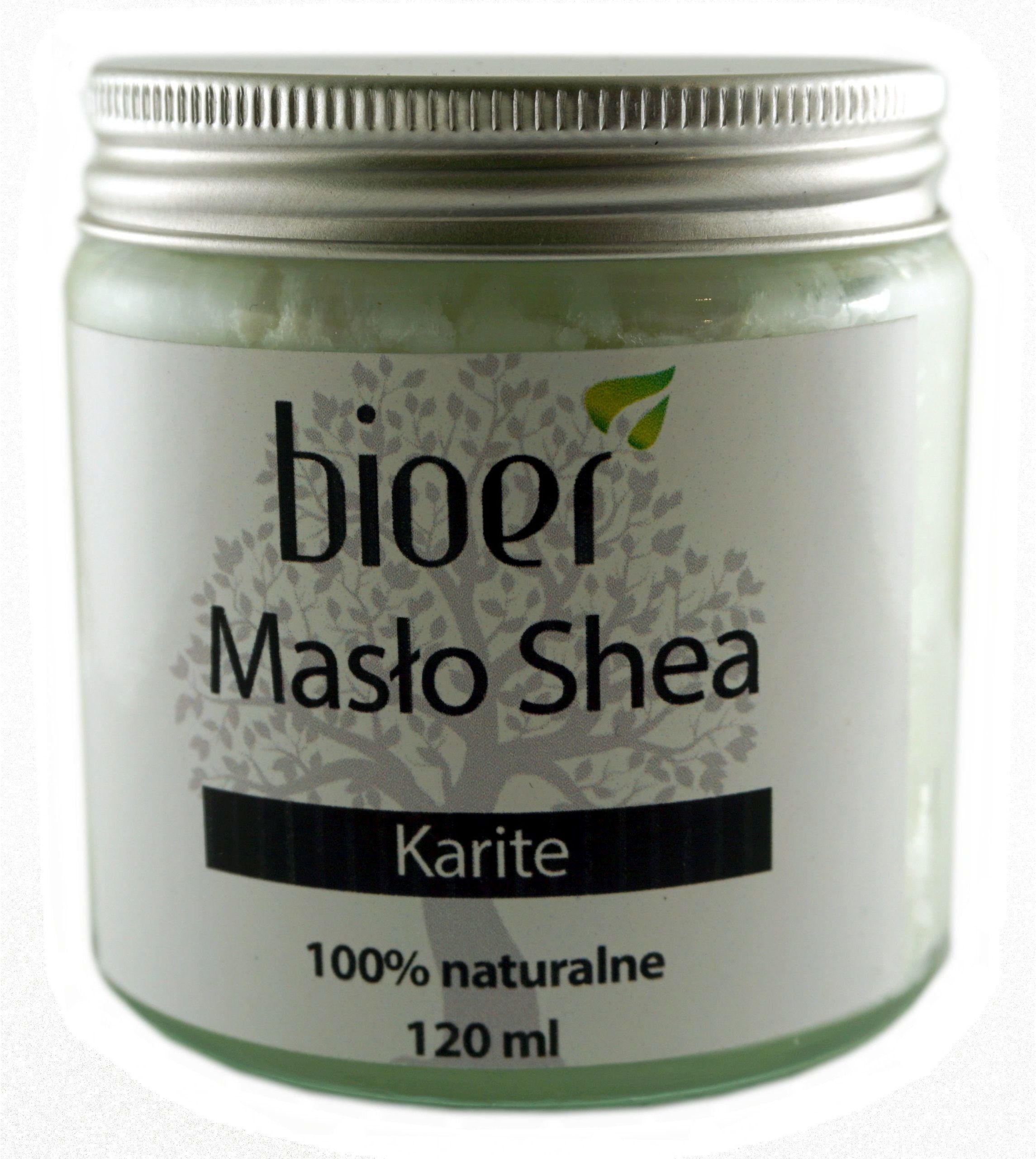 Masło Shea Karite - 120ml - Bioer