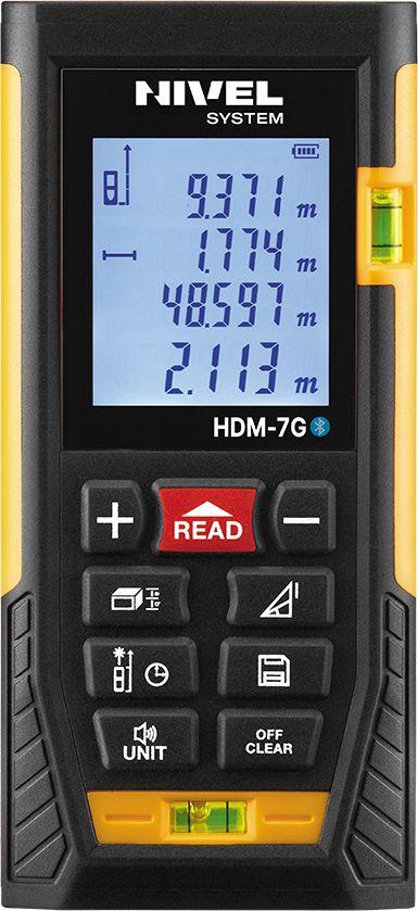 Dalmierz laserowy Nivel System HDM-7G zielony