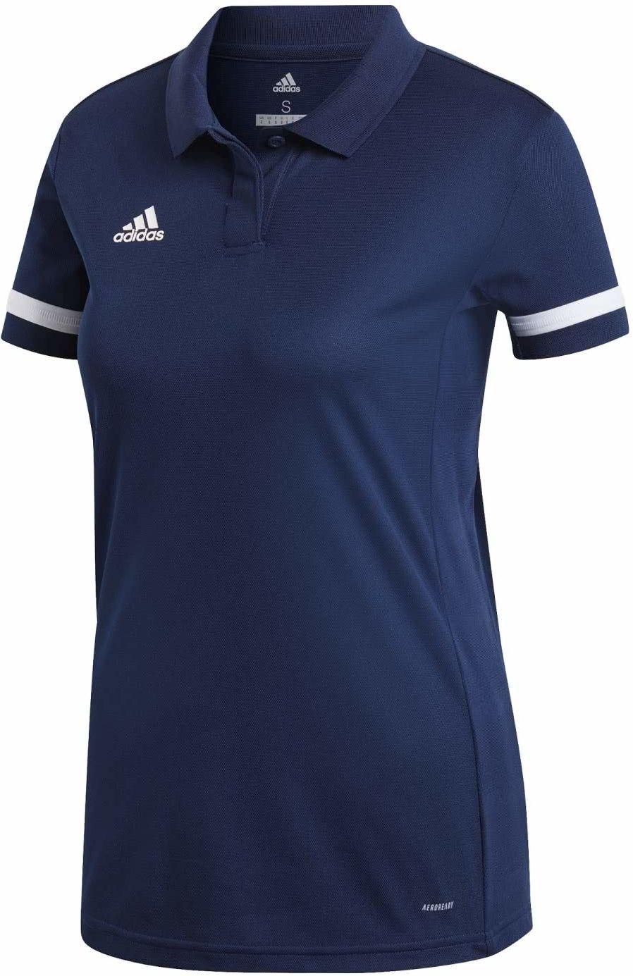 adidas damska koszulka polo T19 W, Team Navy Blue/White, XS