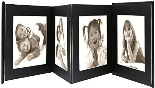 Deknudt album na zdjęcia, skóra lub pudełko, sztuczna skóra, czarny, 13 x 13 cm