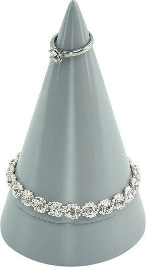 Stojak na biżuterię cone duży szary