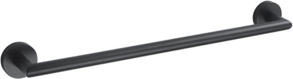 Stella Classic wieszak prosty 45 cm 07.111-B czarny