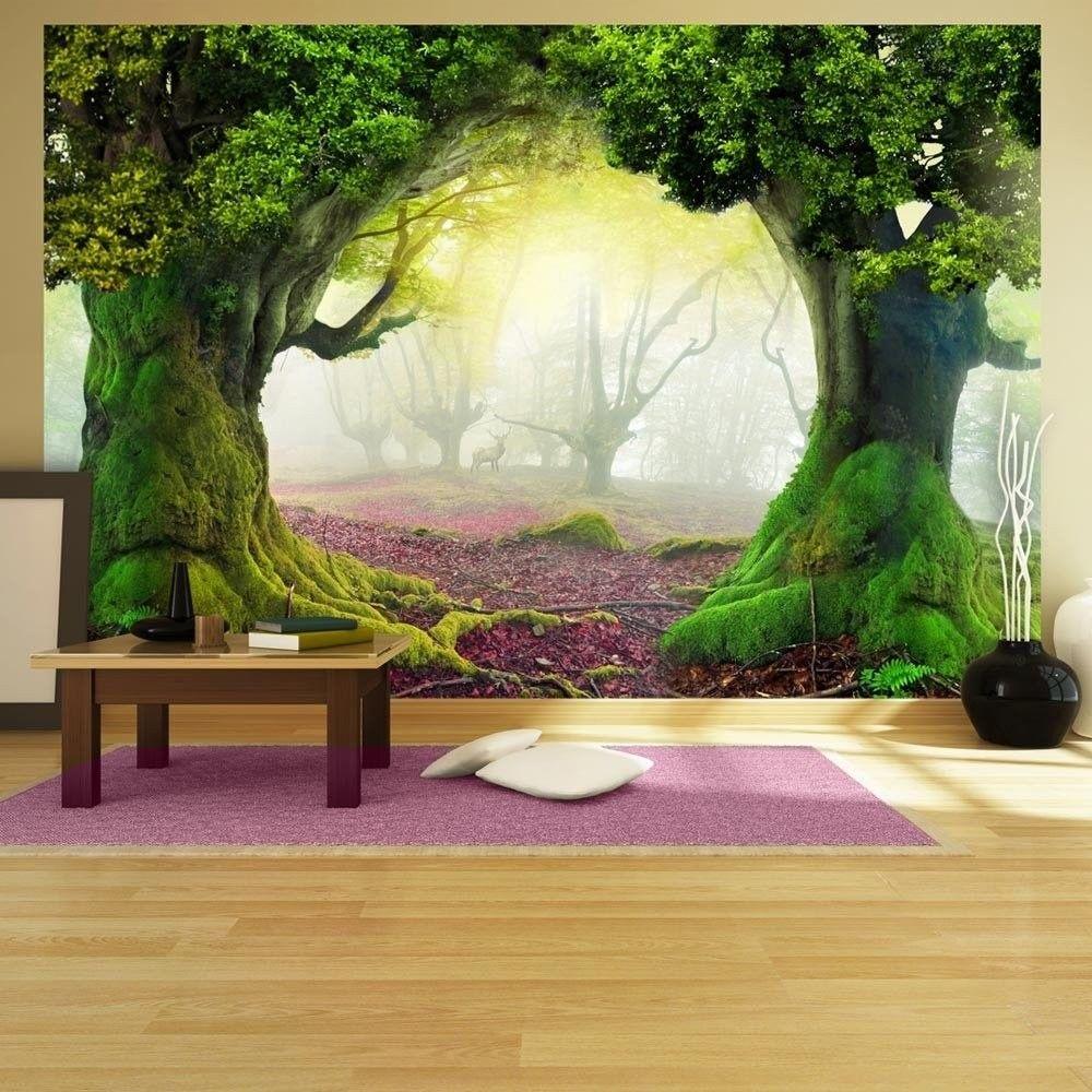 Fototapeta - zaczarowany las