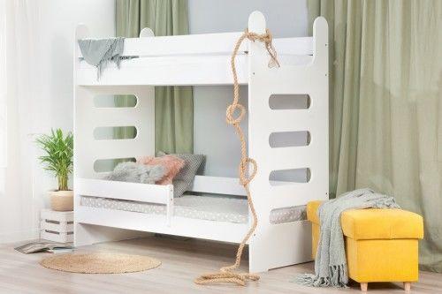 Łóżko 160x80cm High Crane piętrowe kolor biały