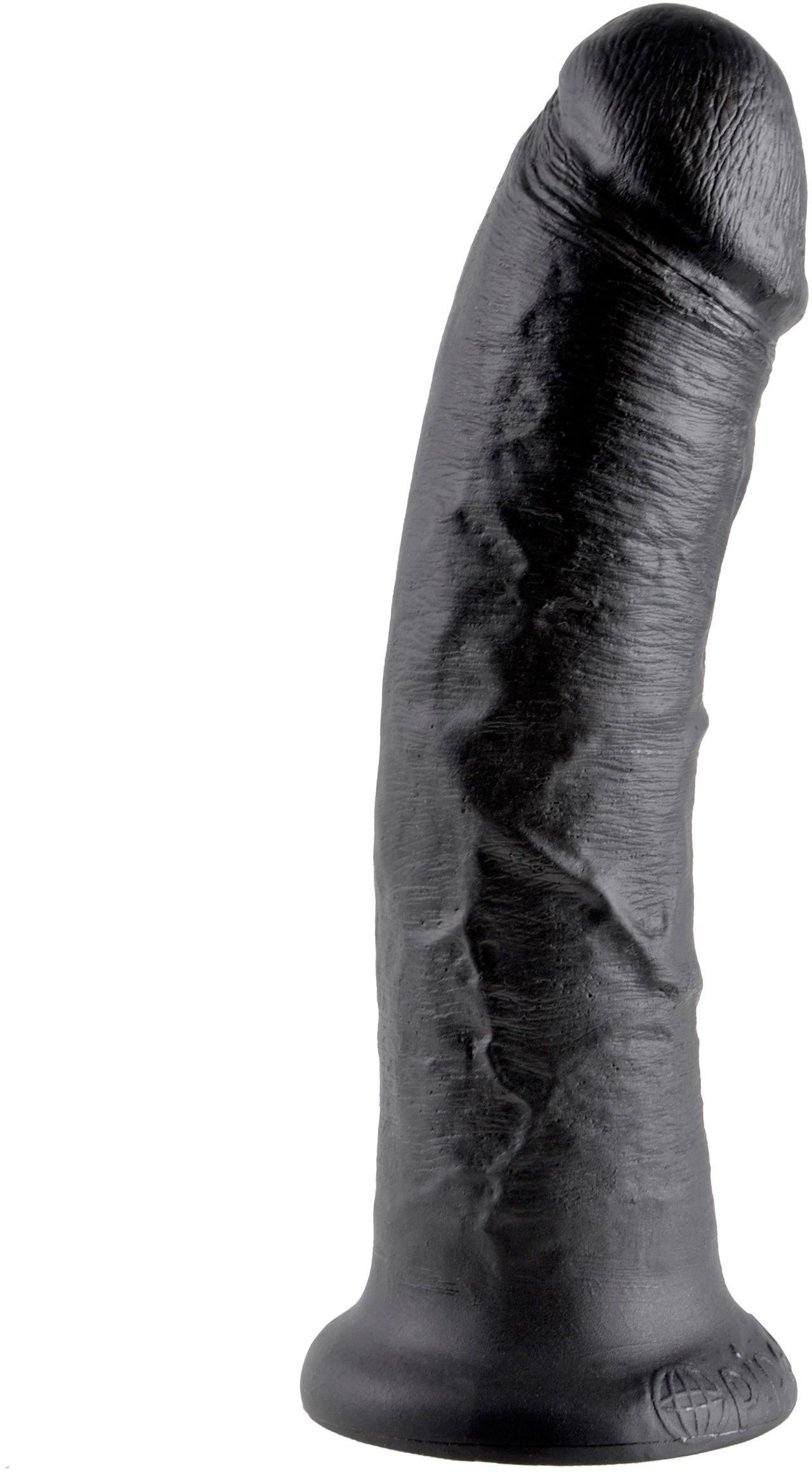 """Pipedream King Cock 8"""" Cock Black - Dildo 20cm Black"""