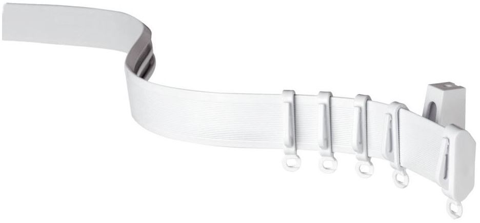 Szyna sufitowa FLEXILINE 350 cm PVC z możliwością wyginania GARDINIA