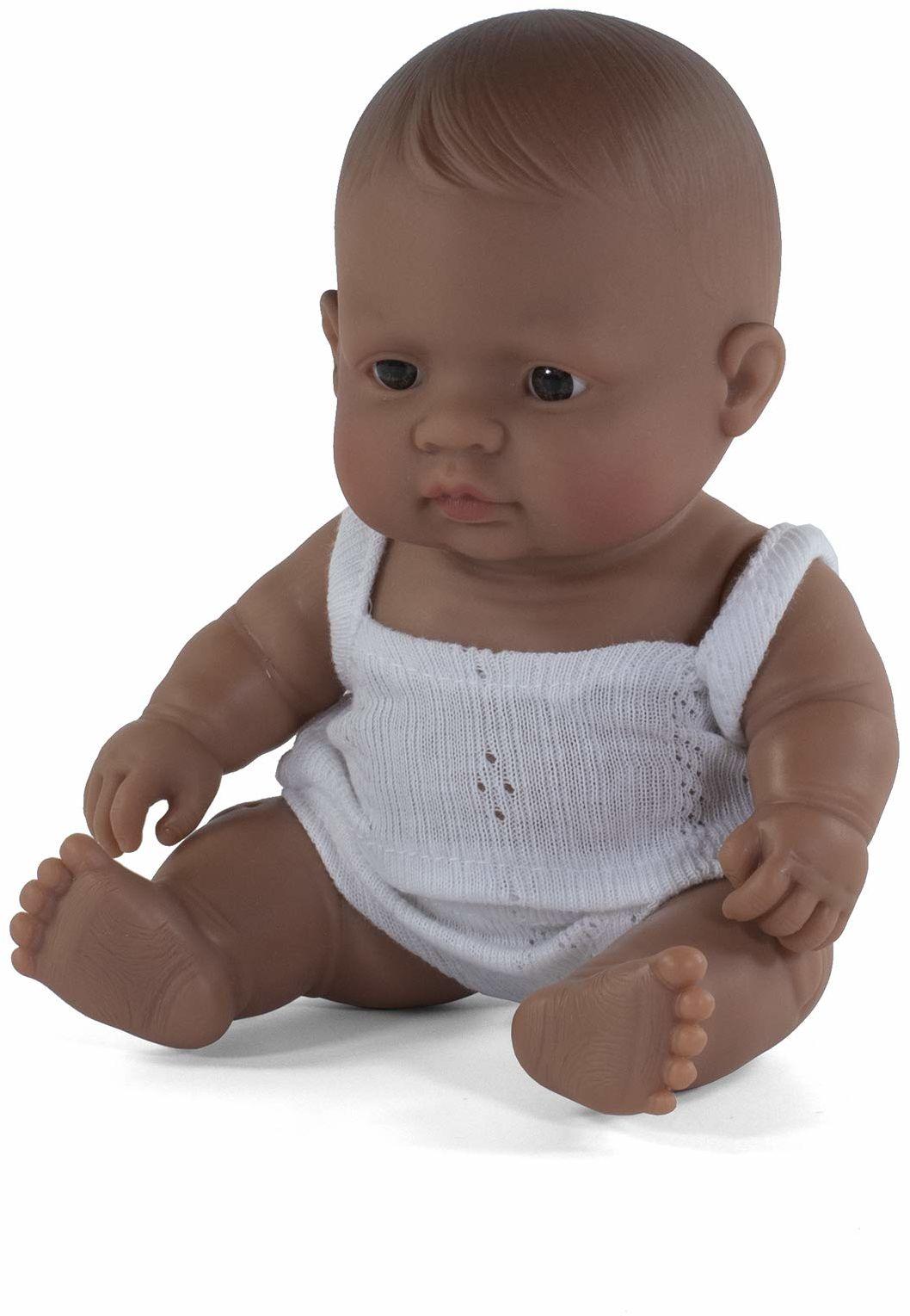 Miniland Miniland31128 dziewczynka dziewczynka hiszpańska 21 cm lalka 31128, wielokolorowa