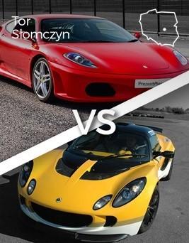 Jazda Ferrari 360 Modena vs Lotus Exige  Tor Słomczyn