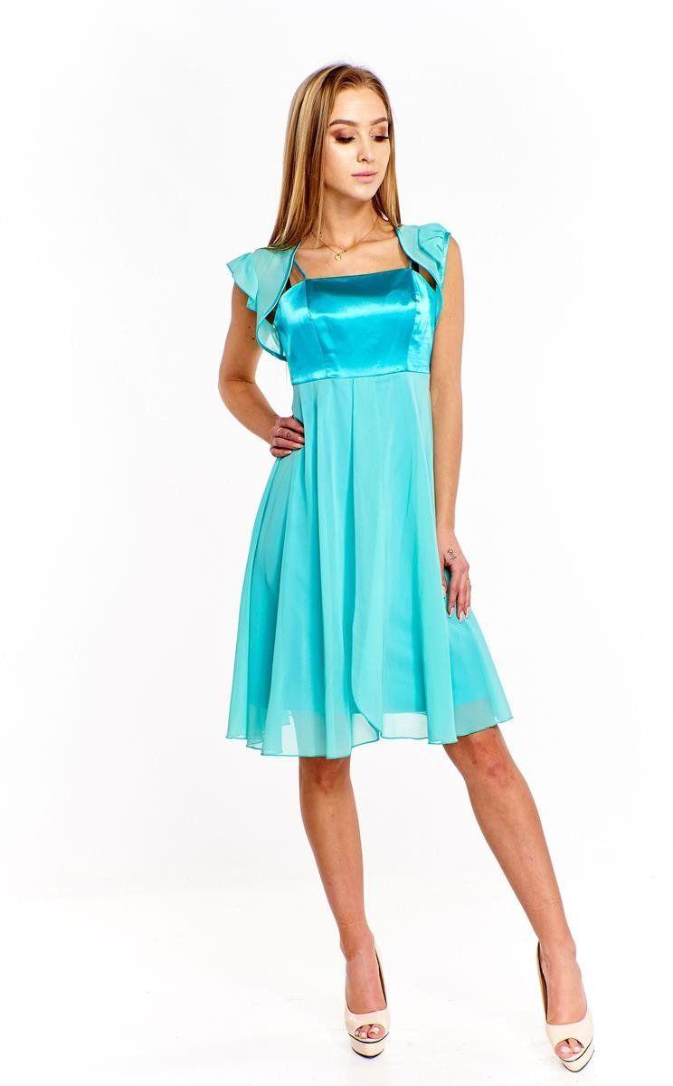 Sukienka FSU184 MIĘTOWY
