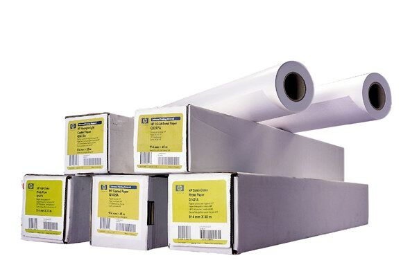 Papier HP Heavyweight Paper, 914mm, 30 m, 120 g/m2 Q1413B