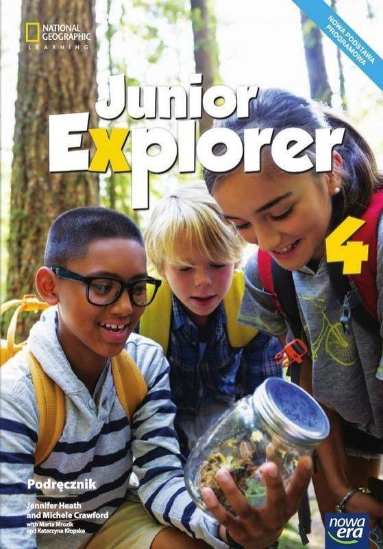 Język angielski junior explorer podręcznik dla klasy 4 szkoły podstawowej 70402 837/1/2017 ZAKŁADKA DO KSIĄŻEK GRATIS DO KAŻDEGO ZAMÓWIENIA