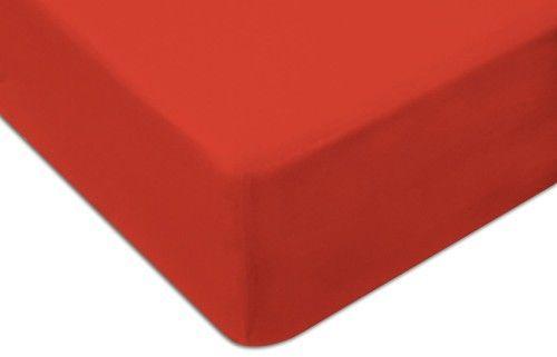 Prześcieradło Jersey Z Gumką 120x200 Czerwone Darymex