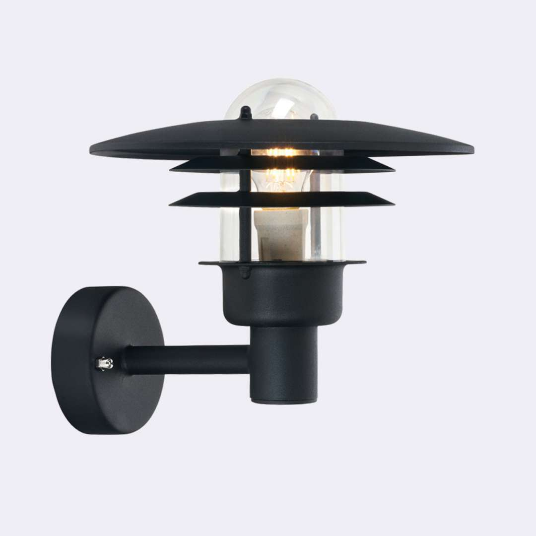 Lampa ścienna LARVIK 690B -Norlys  SPRAWDŹ RABATY  5-10-15-20 % w koszyku