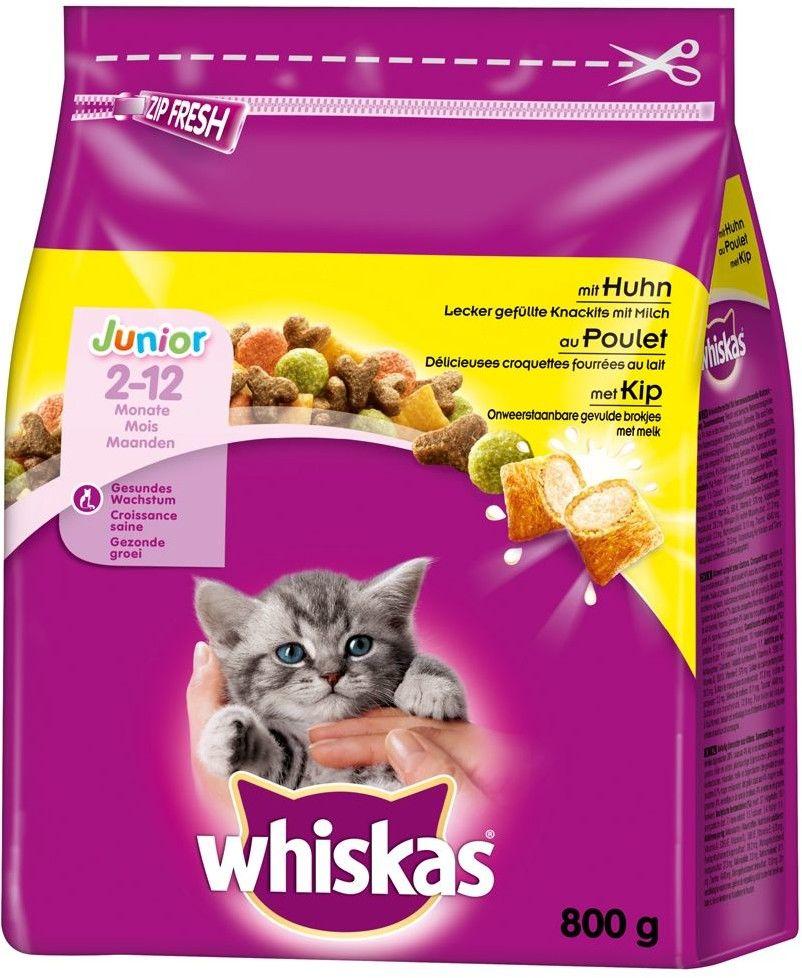 WHISKAS Junior 14kg - sucha karma dla kotów z kurczakiem
