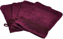 Buscher Rękawica do mycia, bawełna, fioletowa