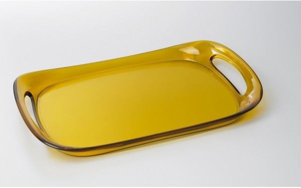 Casa Bugatti GLAMOUR Taca 46 x 30 cm Żółta