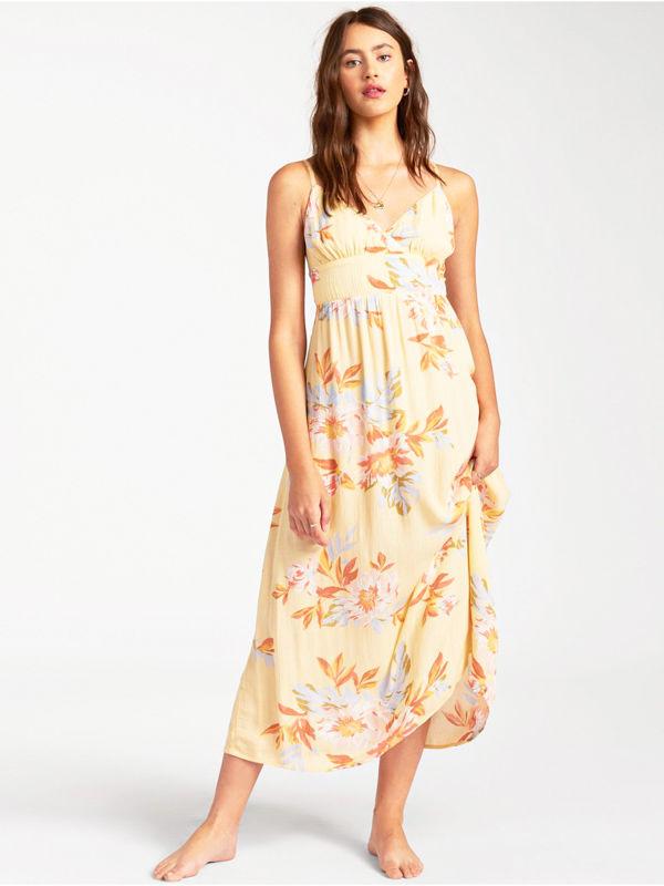 Billabong HONEY MIDI MIMOSA luxury ball suknia długa