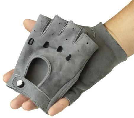 Rękawiczki samochodowe welurowe - rękawiczki do kierownicy z alcantary