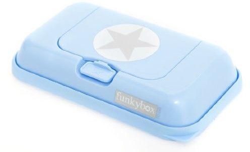 Funkybox - Pojemnik na Chusteczki to go Blue Silver Star