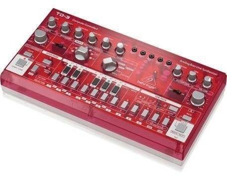 Behringer TD-3-SB Syntezator linii basowej czerwony przeźroczysty
