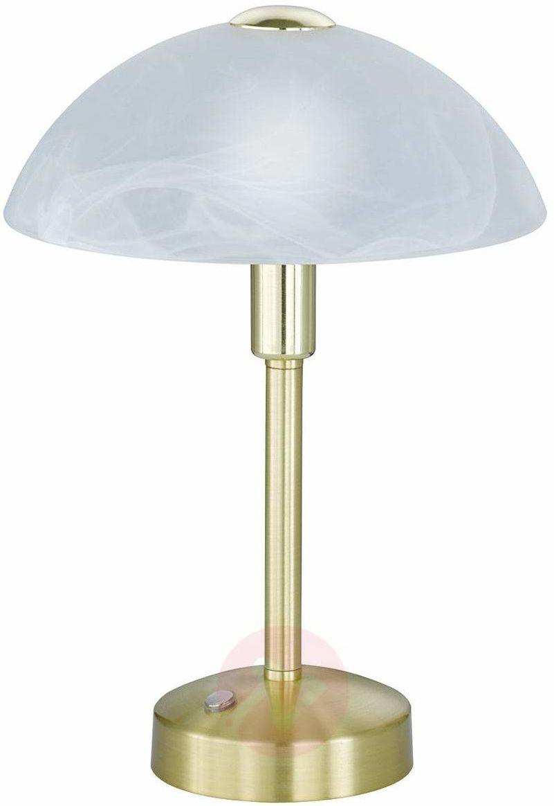 Donna LED lampka stołowa 1-punktowa mosiądz 525790108
