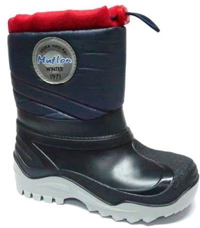 Renbut Muflon kalosze śniegowce dla dzieci 22-468-0120 granat czerwony