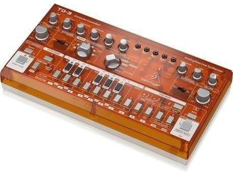 Behringer TD-3-TG Syntezator linii basowej pomarańczowy przeźroczysty