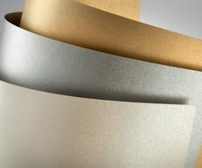 Karton ozdobny A3 Premium Millenium srebrny 20ark