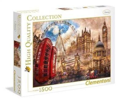 Clementoni - Clementoni Puzzle High Quality Vintage London 1500 el. 31807