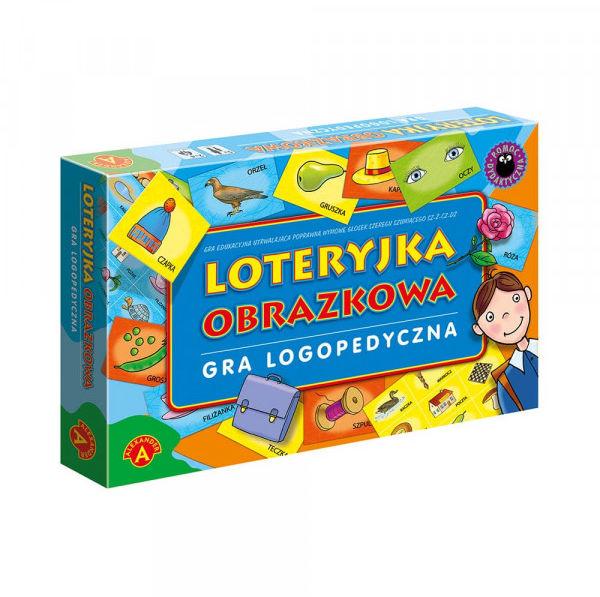 Loteryjka obrazkowa Gra logopedyczna ZAKŁADKA DO KSIĄŻEK GRATIS DO KAŻDEGO ZAMÓWIENIA