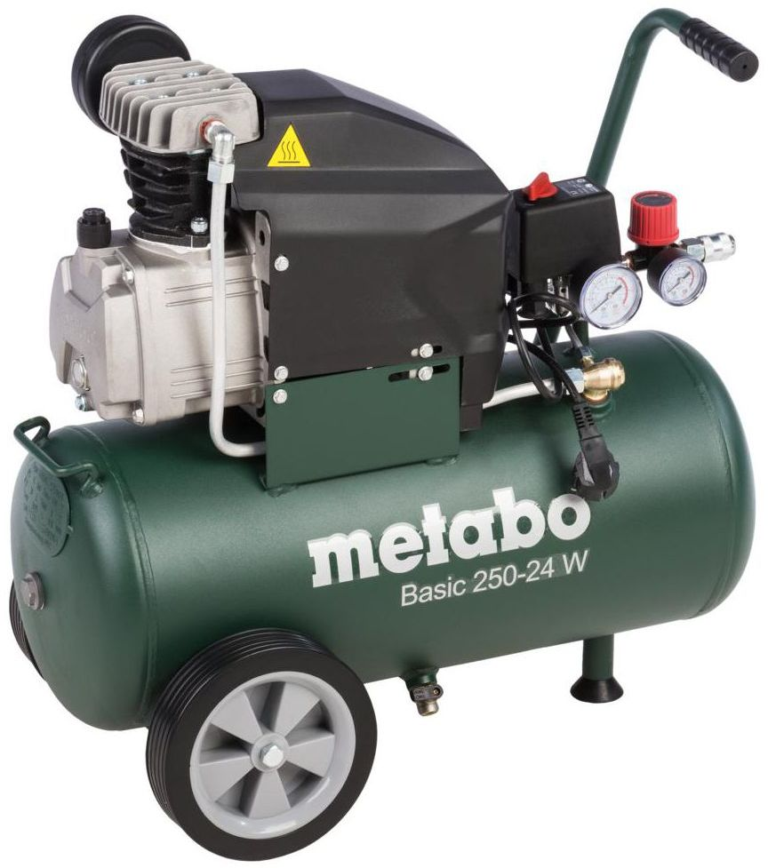 Kompresor olejowy BASIC 250-24 W 24 l 8 bar METABO