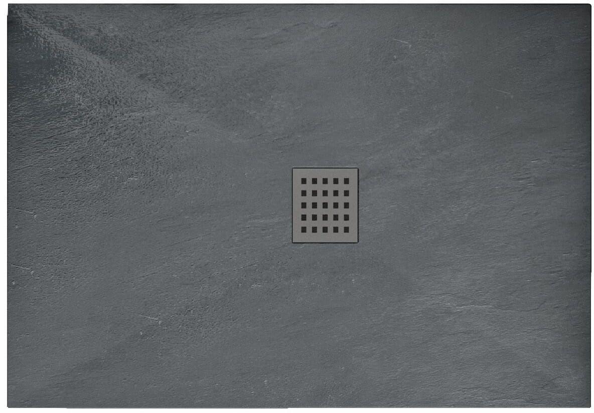Brodzik prysznicowy 80x100 Grey Rock Rea (REA-K4582)