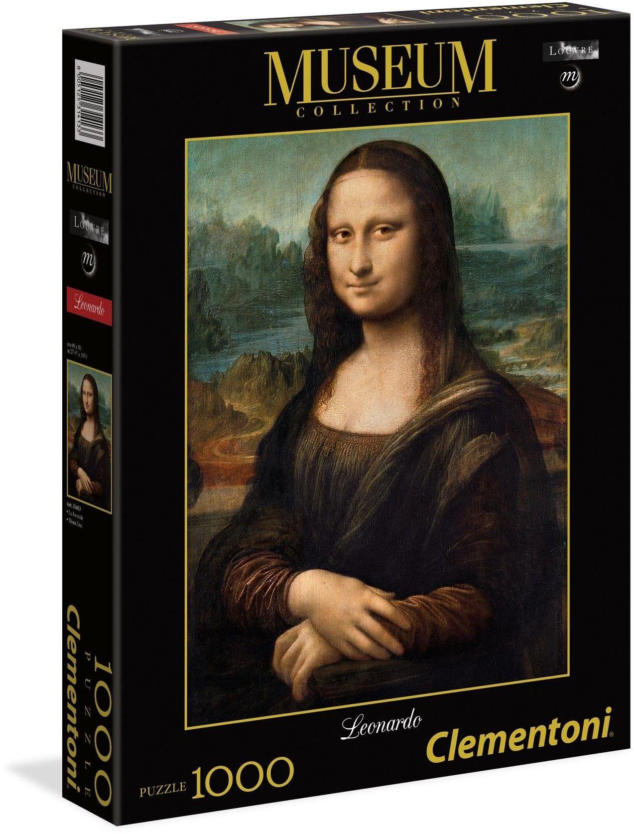 Clementoni - Clementoni Puzzle Museum Collection Mona Lisa Leonardo 1000 el. 31413