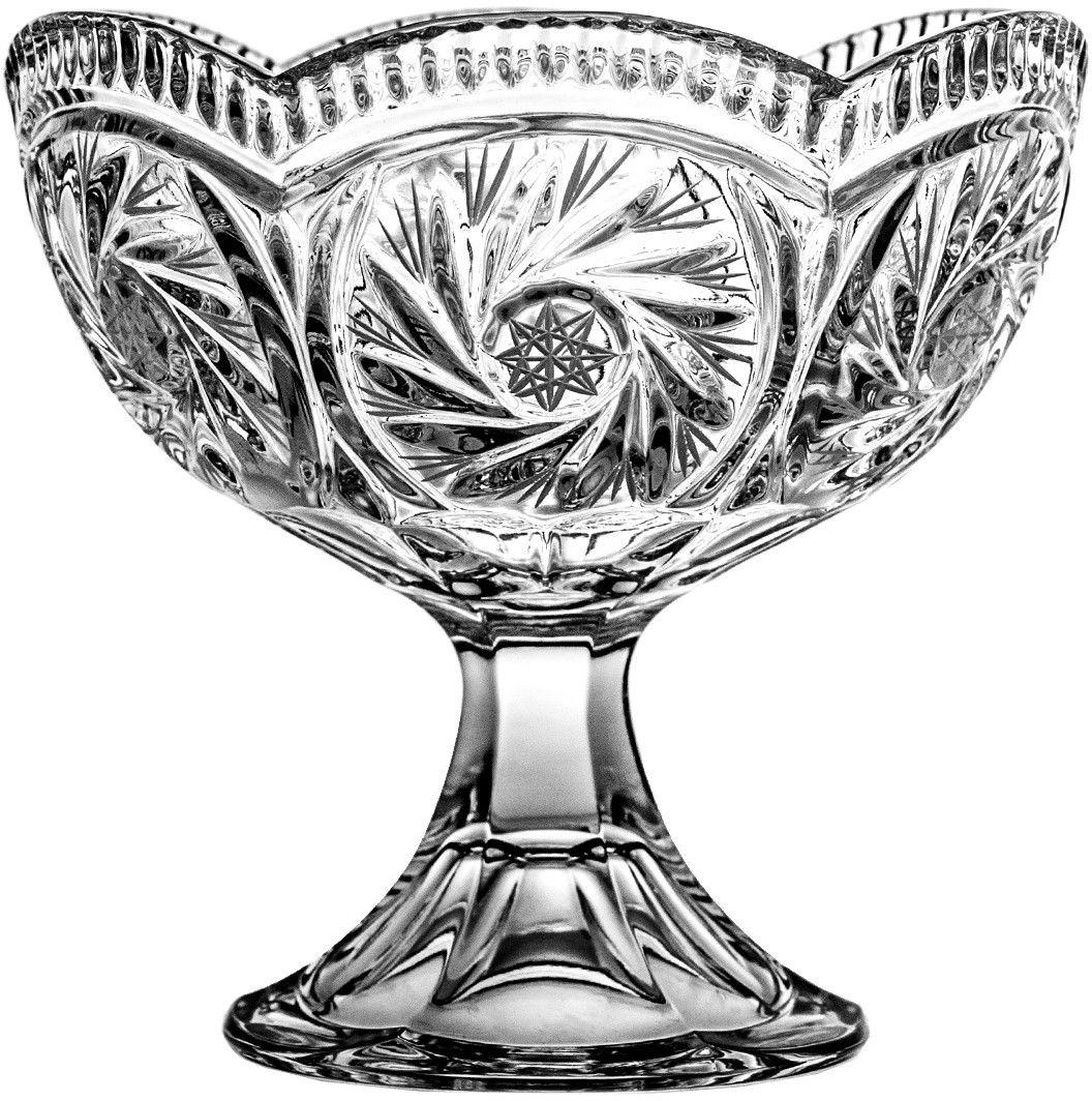 Patera owocarka kryształowa 1398