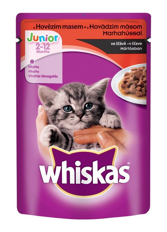WHISKAS saszetka JUNIOR