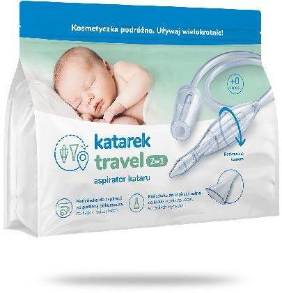 Katarek Travel 2w1 aspirator 1 sztuka