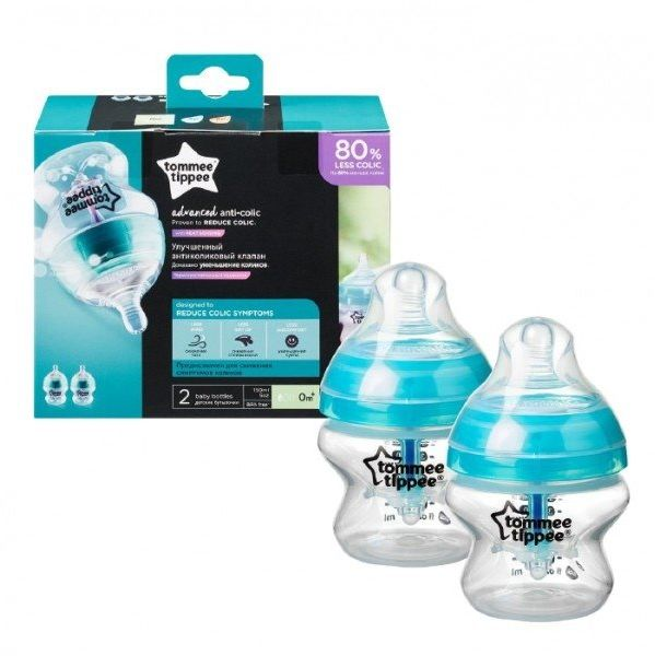 Butelka Antykolkowa Advanced Anti-Colic 2*150 Tommee Tippee