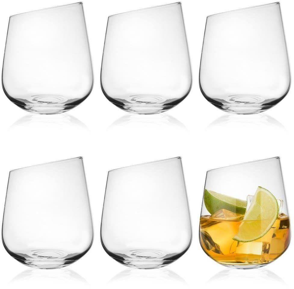 Zestaw szklanek szklanki nowoczesne szklanka EXCLUSIVE komplet 6 sztuk 480 ml