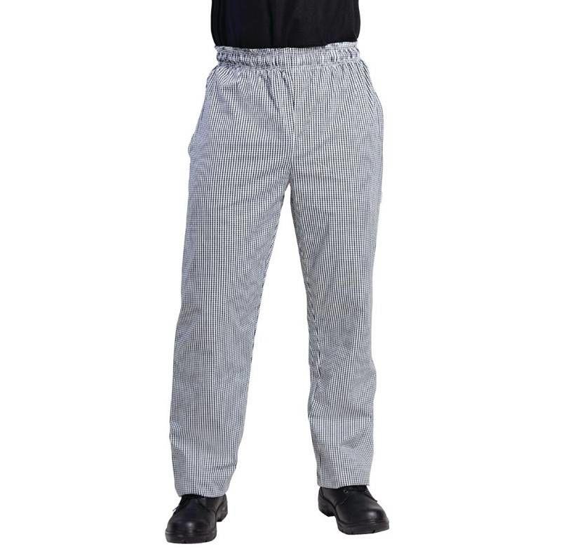 Spodnie unisex w kratę różne rozmiary